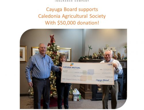 Cayuga Mutual donates $50,000