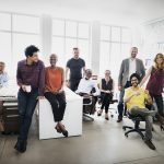 Diverse and Inclusive office team
